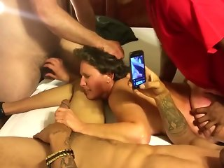 gangbang group sex