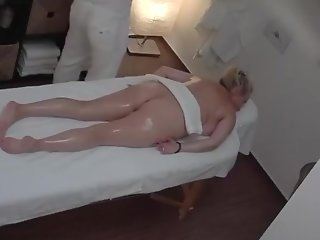 blonde massage