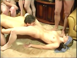 cumshot group sex