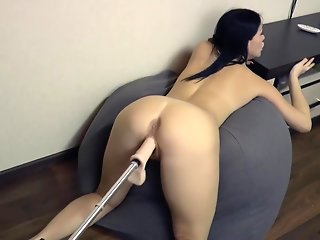 big ass female orgasm