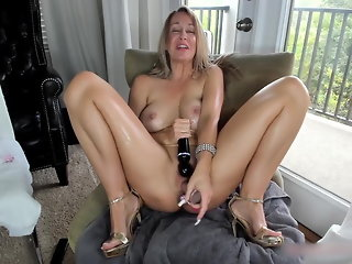 blonde sex toy