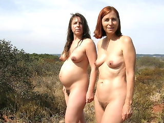 mature public nudity
